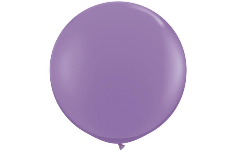 Qualatex 5 Inch Plain Latex Party Balloons (Pack Of 100) (48 Colours) (Spring Lilac) (One Size)