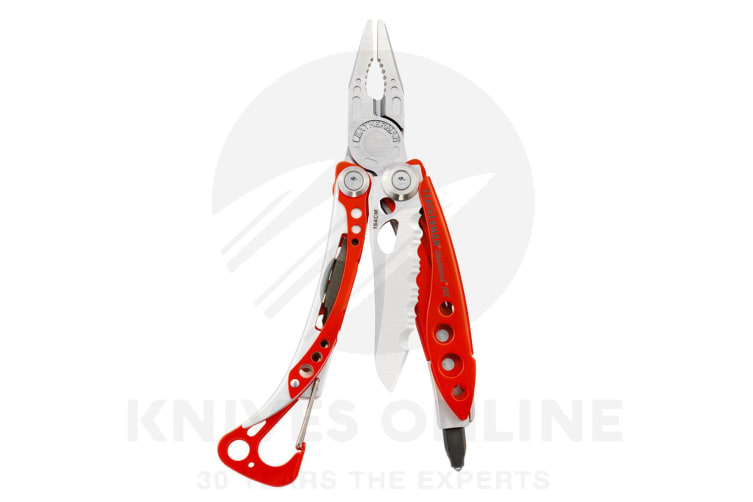 LEATHERMAN SKELETOOL RED RX STAINLESS STEEL MULTITOOL RESCUE MODEL *BRAND NEW*