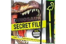 Dinosaur Secret File with Dino Pen - Over 150 Dino Facts and Activities!