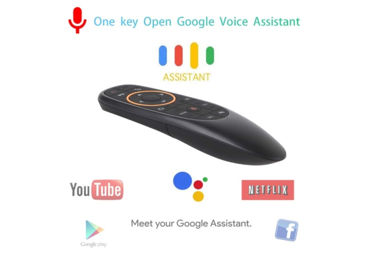Remote Control Mouse,G10 Remote Control,Air Remote Mouse with 2.4G Wireless Voice Control Sensing for Smart TV Android TV Box Projector PC HTPC IPTV and More Media Player