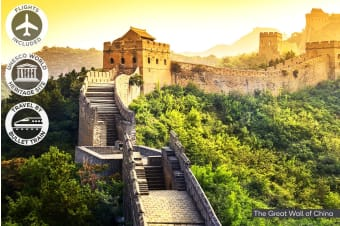 CHINA: 8 Day China Tour Including Flights