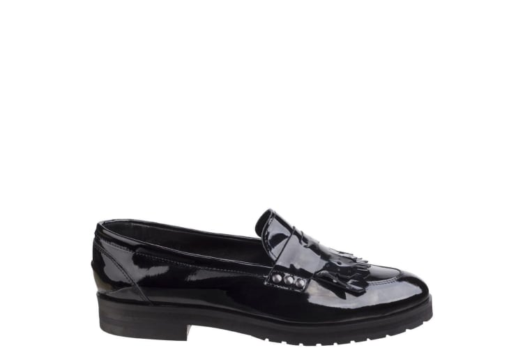 Riva Womens/Ladies Olympia Loafers (Black) (7 UK)
