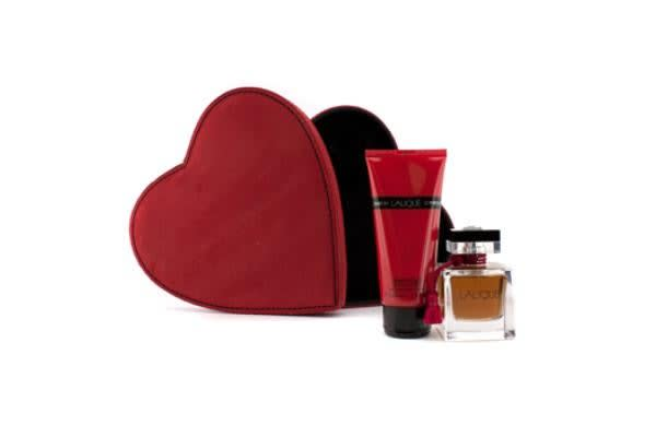 Lalique Le Parfum Coffret: Eau De Parfum Spray 50ml/1.7oz + Precious Body Cream 100ml/3.3oz (2pcs)