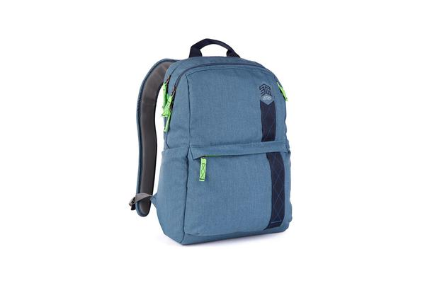 "STM Banks Backpack for 15"" Notebooks - China Blue"