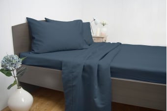 Ardor 1900TC Cotton Rich Sheet Set Blue