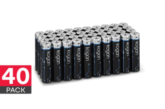 40 Pack Kogan QuantuMAX AAA Alkaline Batteries