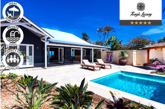 BYRON BAY: 4/7 Nights at Luxury Guesthouse for Six