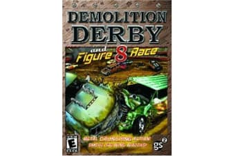 Demolition Derby and Figure 8 Race PC GAME BRAND NEW SEALED