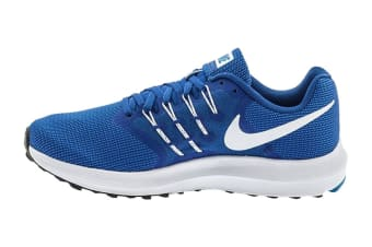 Nike Men's Run Swift Shoes (Wolf Blue/White/Blue Jay, Size 9 US)