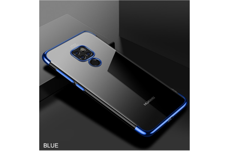 Soft Transparent Tpu Cover Ultra Thin Clear Shell For Huawei Blue Huawei Honor8C