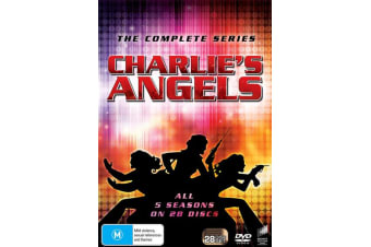 Charlies Angels Season 1-5 Box Set DVD Region 4