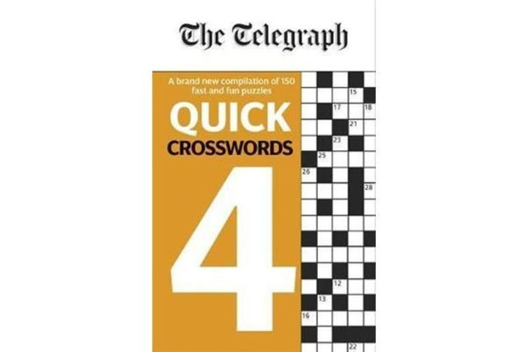 The Telegraph Quick Crosswords 4