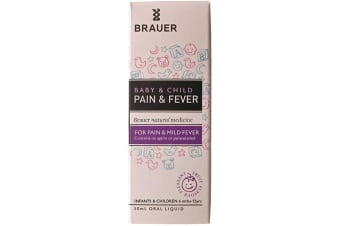 Brauer Baby and Child Pain and Fever 50ml