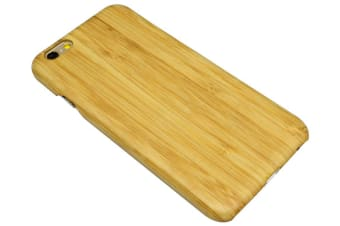 For iPhone 6S 6 Case Elegant High-Quality Natural Bamboo Wooden`Protective Cover