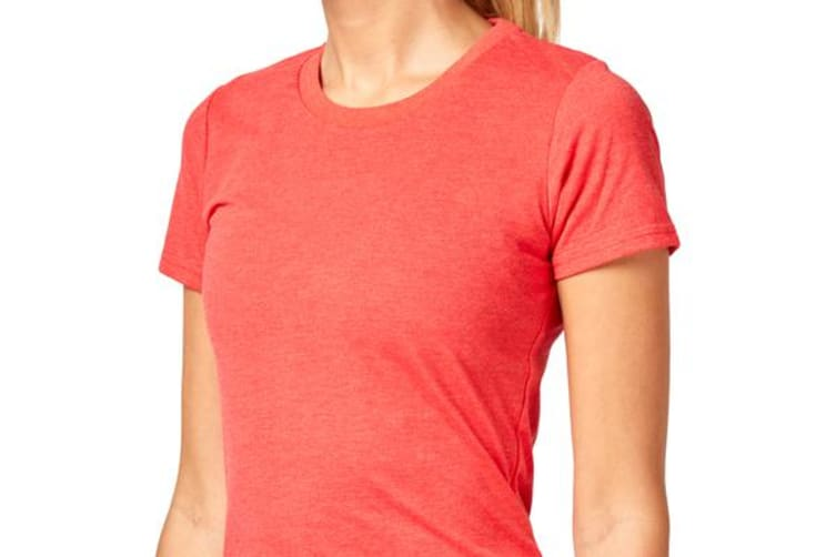Saucony Band Logo Tee (Flame Scarlet, Size S)