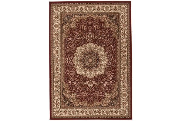 Stunning Formal Medallion Design Rug Red 290x200cm
