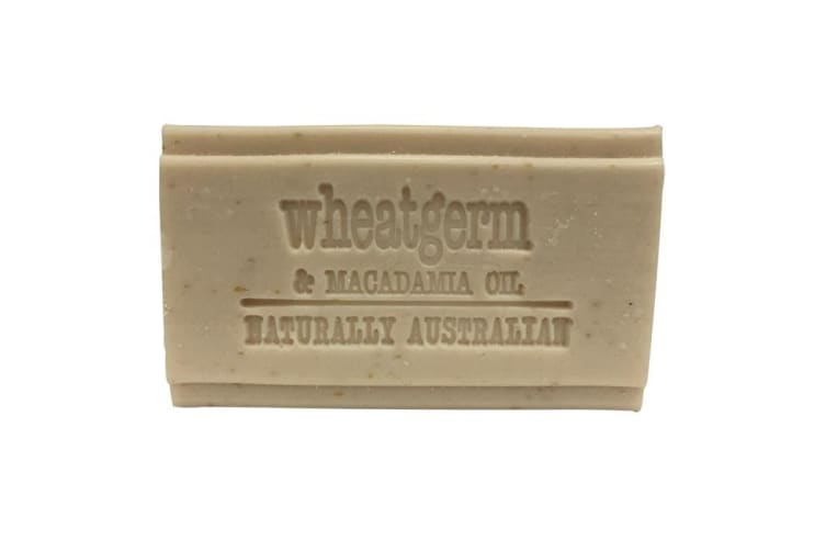 Clover Fields Natures Gifts Wheatgerm & Macadamia Oil Soap 100g