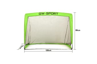 GW Sport Foldable Soccer Goal with Ball