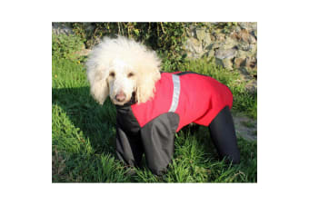 Cosipet Trouser Extreme Dog Coat (Red) (20in)