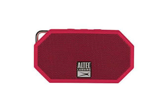 ALTEC LANSING Mini H20 3 Red - EVERYTHING PROOF Rugged & waterproof