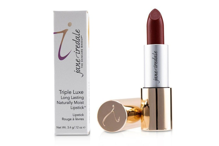 Jane Iredale Triple Luxe Long Lasting Naturally Moist Lipstick - # Megan (Strawberry Red) 3.4g/0.12oz