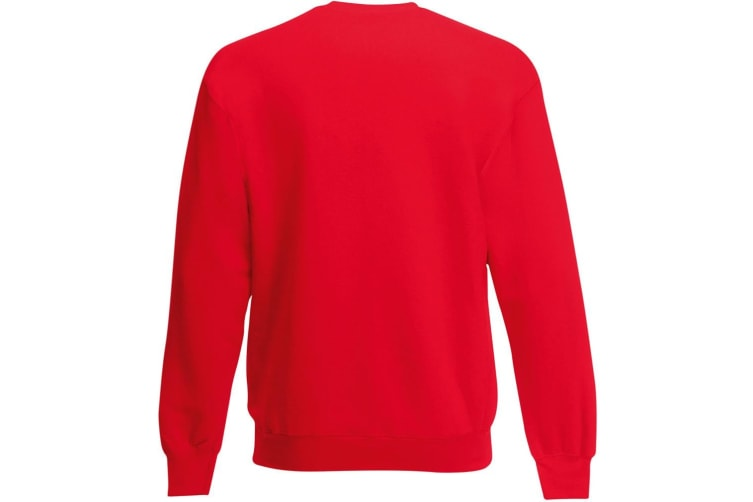Mens Jersey Sweater (Classic Red) (X Large)