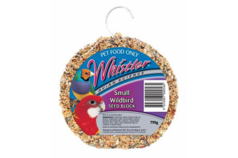 Whistler Small Wild Bird Seed Block Treat 790g