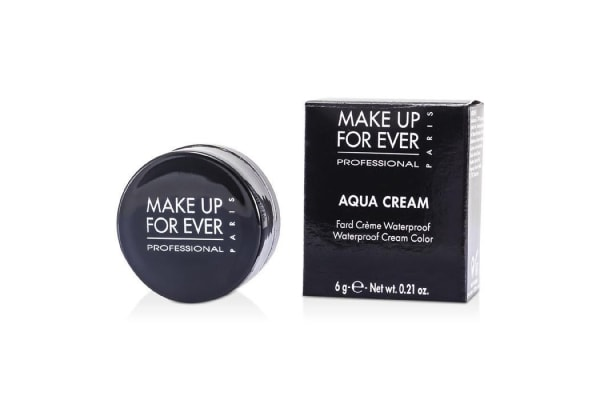 Make Up For Ever Aqua Cream Waterproof Cream Color For Eyes -#27 (Black) (6g/0.21oz)