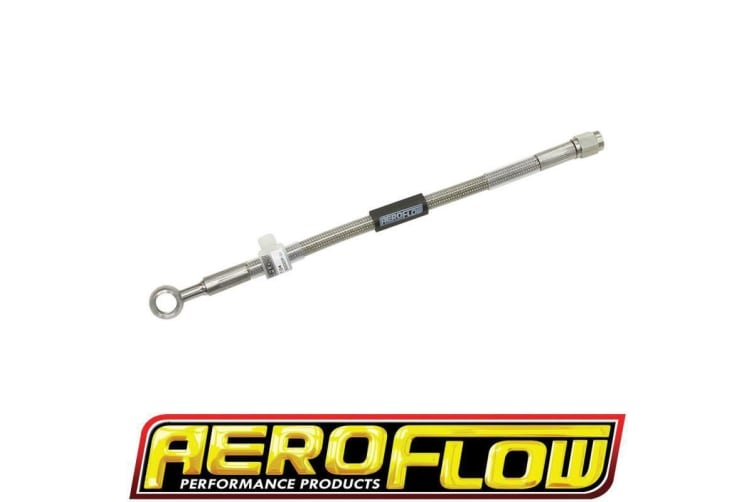 """Aeroflow 3/8"""" (10Mm) To -3AN 9"""" Long Line To Female -3AN Straight"""