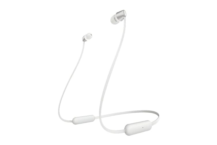Sony WI-C310 Wireless In-Ear Headphones (White)