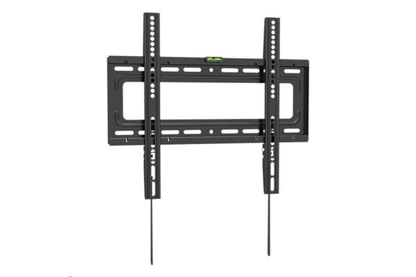 """BRATECK 32-55"""" Fixed Curved & Flat TV Wall Mount. Click-in spring lock"""