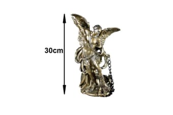 Archangel Michael Statue Angel Figurine Faith Love Protection & Integrity Tin 30cm