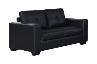 Nikki 2 Seater Sofa (Black)