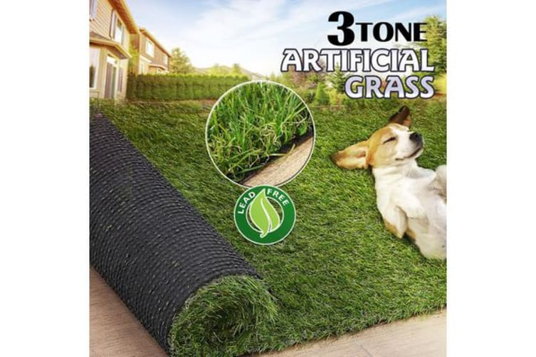10 SQM Synthetic Turf Artificial Grass Plastic Plant 30MM