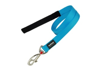 Red Dingo Plain Dog Lead (Turquoise)