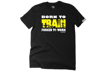 Personal Best Running Tee - Born To Train Mens T-Shirt