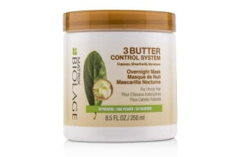 Matrix Biolage 3 Butter Control System Overnight Mask (For Unruly Hair) 250ml/8.5oz