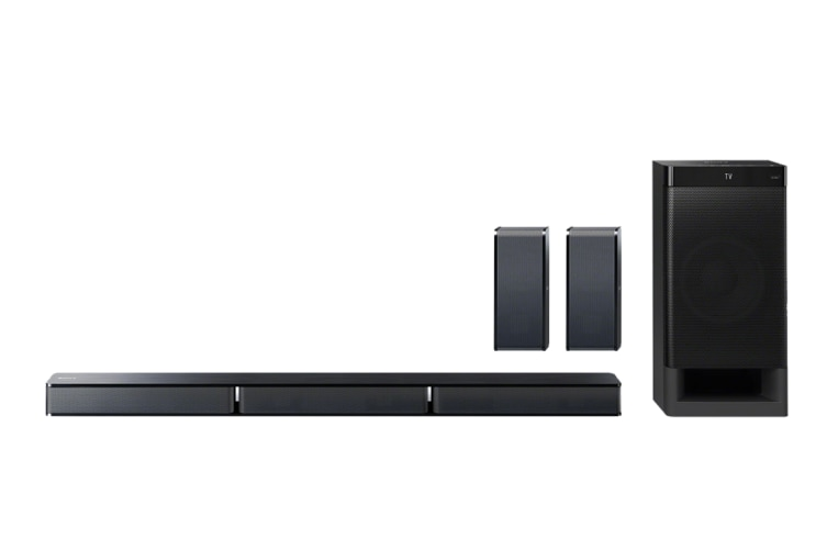 Sony 5.1 Channel Soundbar With Rear Speakers (HT-RT3)