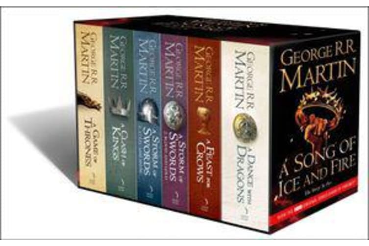 A Game of Thrones: The Story Continues [Export only] - The Complete Boxset of All 6 Books