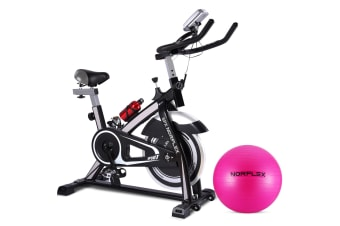 NEW NORFLEX Spin Bike Flywheel Commercial Gym Exercise Workout Home BK*65CM BALL