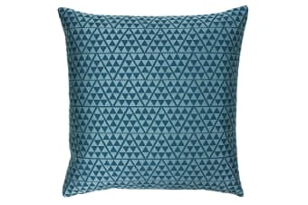 Paoletti Louvre Cushion Cover (Pagoda Blue/Duck Egg)