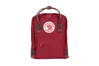 Fjallraven Kanken Mini (Deep Red/Random Blocked)