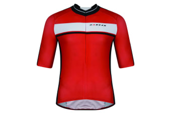 Dare 2B Mens Oscar Pereiro AEP Hammer Down Short Sleeve Cycle Jersey (Fiery Red)