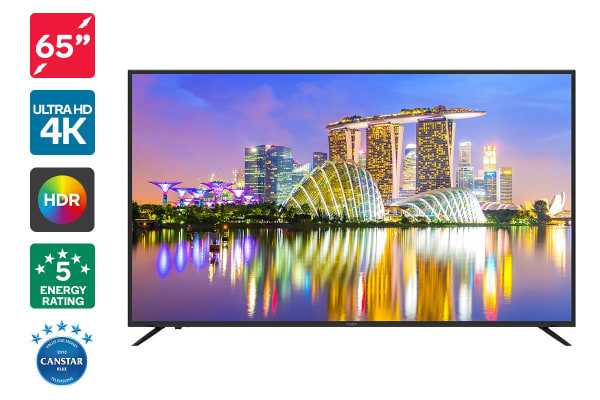 "Kogan 65"" 4K HDR LED TV (Series 8 KU8100)"
