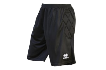 Errea Mens Impact Goalkeeper Football Shorts (Black)