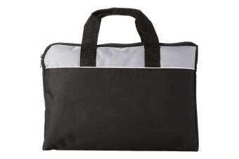 Bullet Tampa Conference Bag (Solid Black/Grey) (38 x 2.5 x 28cm)