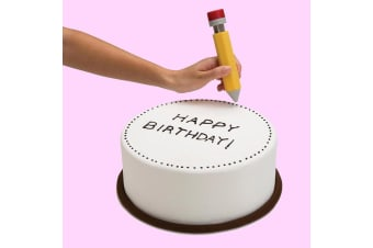 Write On! Novelty Pencil Cake Decorating Tool