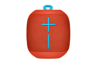 Ultimate Ears UE WONDERBOOM Portable Bluetooth Speaker (Fireball Red)