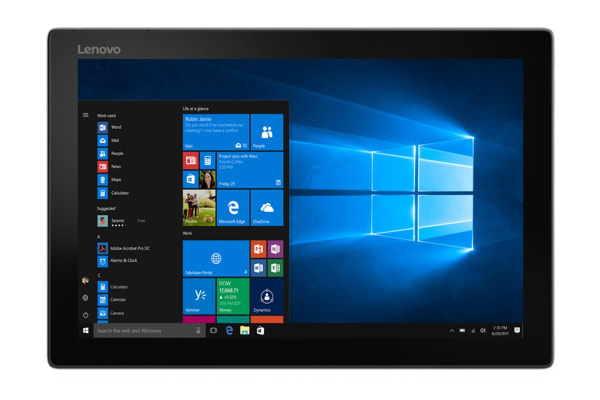 "Lenovo 12.2"" MIIX 520-12IKB I7-8550U 8GB RAM 256GB SSD FHD Touch Screen Windows 10 Tablet (20M30017AU)"