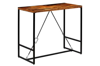 vidaXL Bar Table Solid Reclaimed Wood 120x60x106 cm